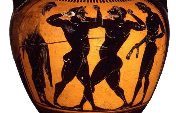 Пифагор был боксером.