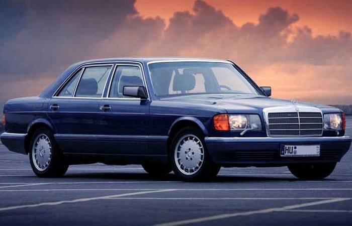 Автомобиль Mercedes-Benz 560SEL 6.9.