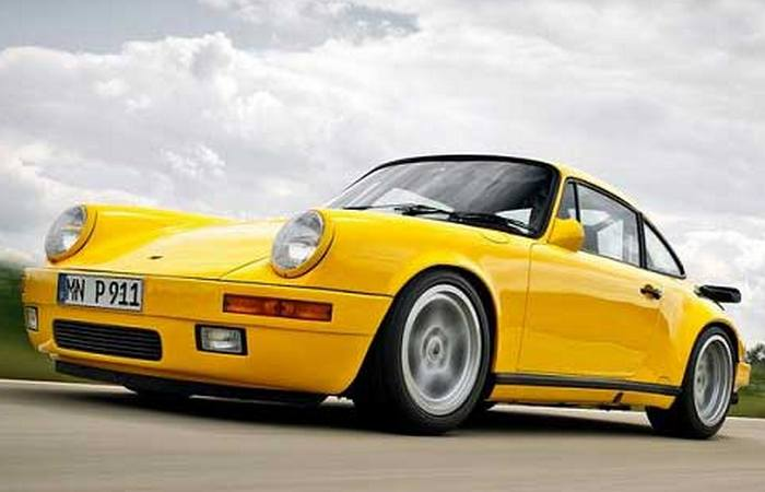 Автомобиль RUF CTR Yellowbird.