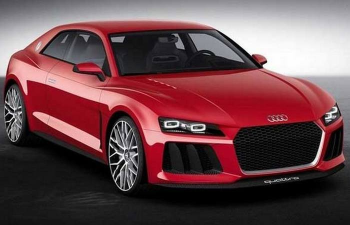 Автомобиль Audi Quattro.