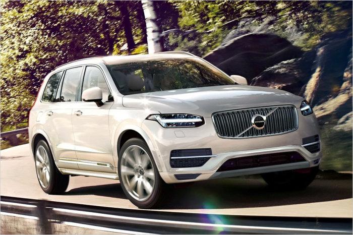Volvo XC90 Hybrid - новый стандарт безопасности.