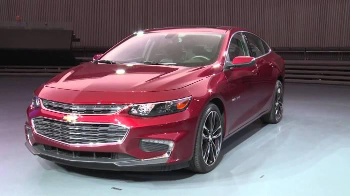 Chevrolet Malibu Hybrid - образец стиля.