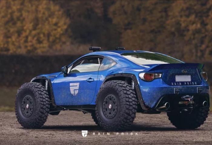 А Subaru BRZ такое подходит.