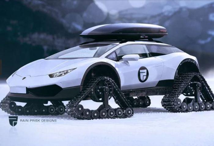 Теперь Lamborghini Huracan настоящий ураган.