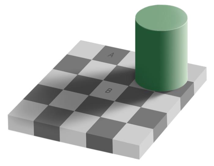 Популярная иллюзия.