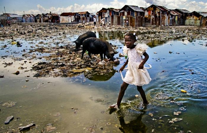 Глобальные проблемы: санитария и связь.