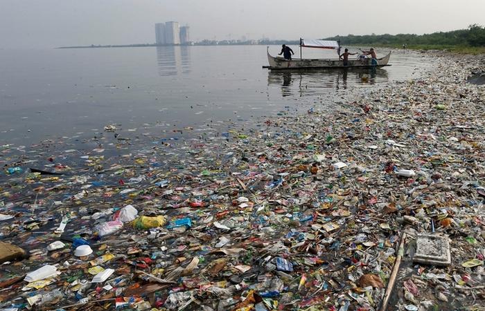 Глобальная проблема: загрязнение мирового океана.