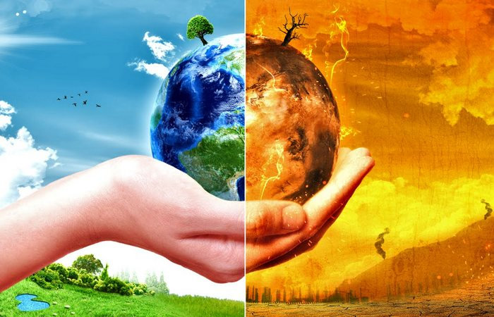 global warming is destroying our planet essay