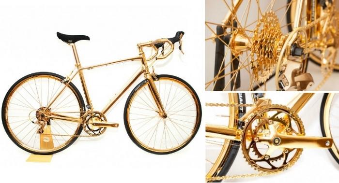 Велосипед дороже, чем Ferrari.