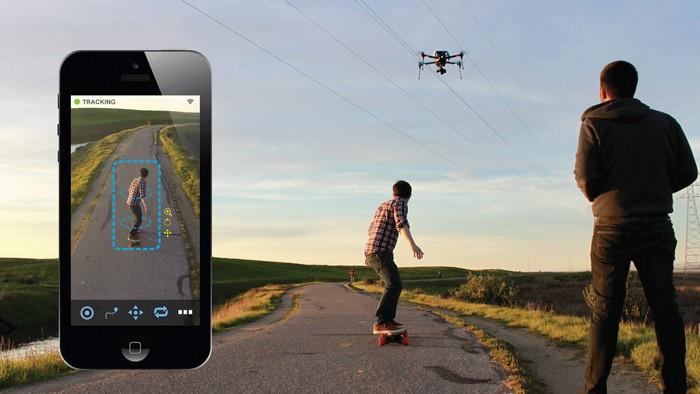 Хороший подарок: AirDog Auto Follow Drone.