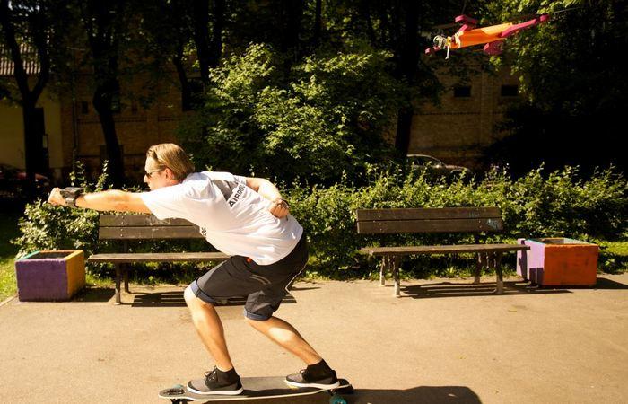 Хороший новогодний подарок: AirDog Auto Follow Drone.