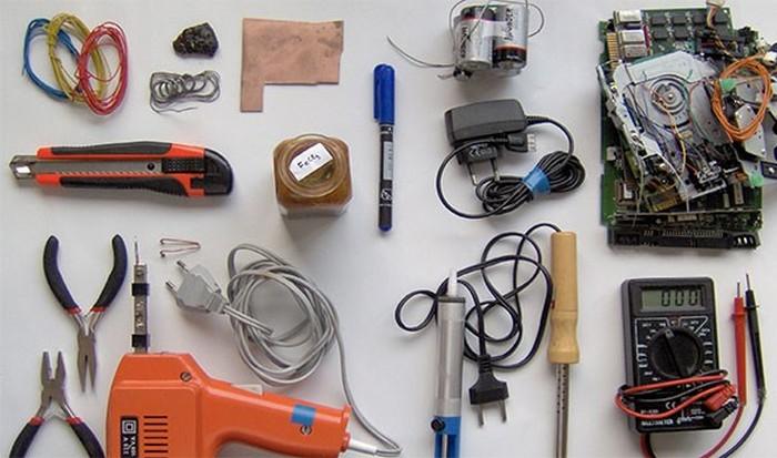 Хорошее приобретение: инструменты.