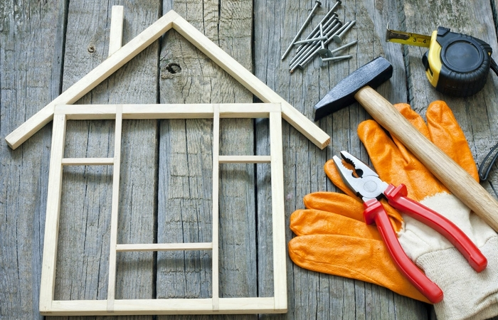 Хорошее приобретение: ремонт дома.
