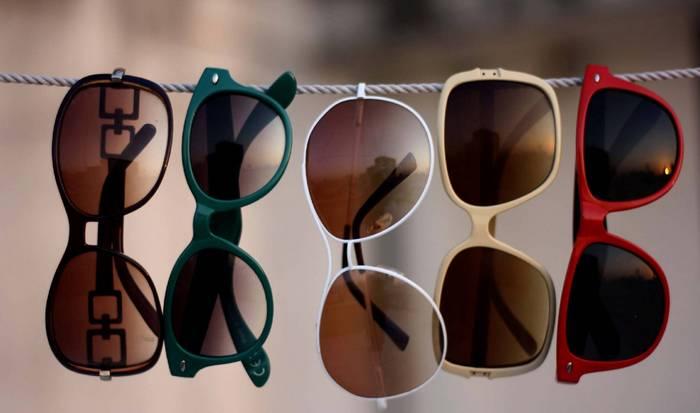 Хорошее приобретение: солнцезащитные очки.
