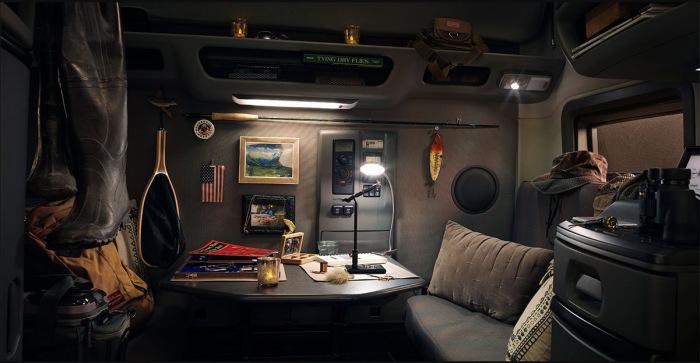 Отличная кабина для дальних путешествий. |Фото: drive2.ru.