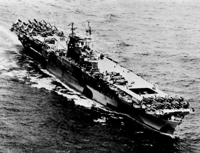 Самый успешный корабль Второй мировой войны.