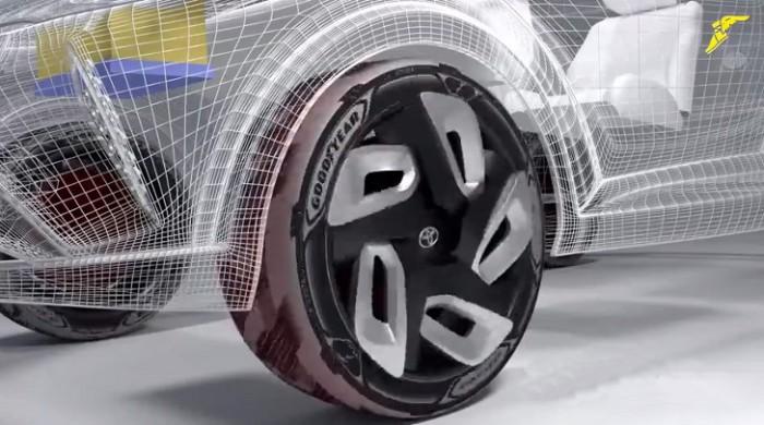 Инновационные шины Goodyear.