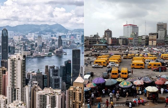 Ценовое столкновение Гонконга и Лагоса.