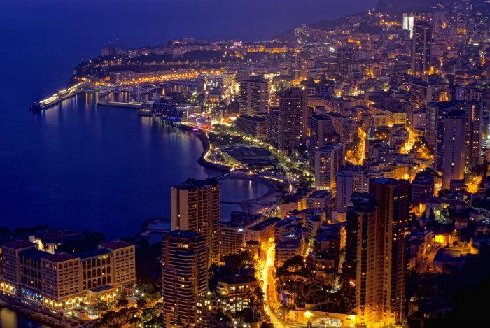 Монако - страна для богачей. |Фото: burocratia.ru.