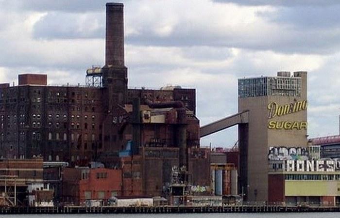 Сахарный завод «Домино».
