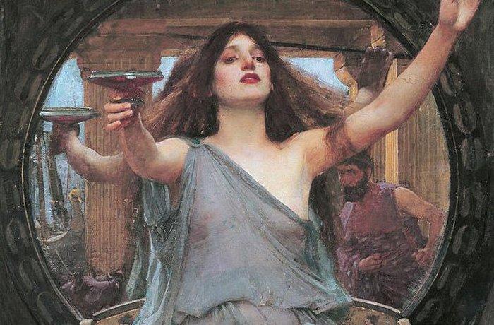 Древнегреческая живая богиня.