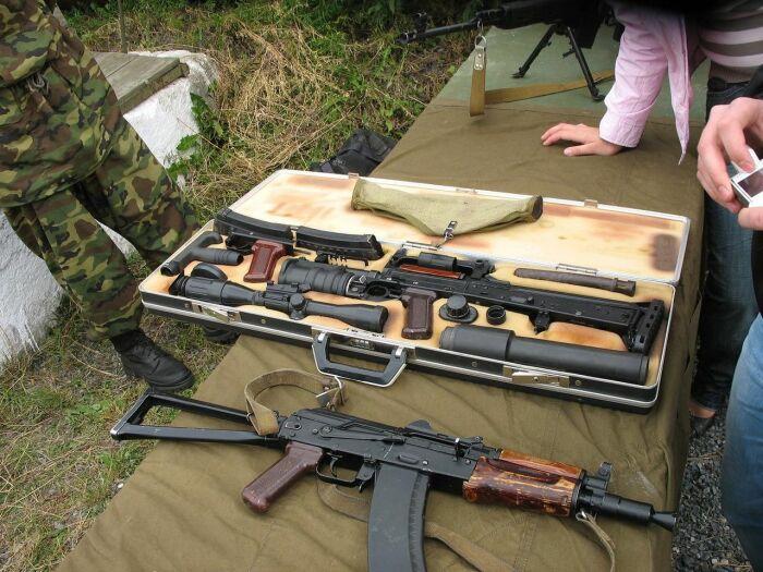 Модульный автомат для спецназа. |Фото: liveinternet.ru.