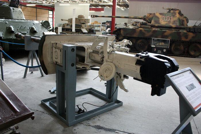 Главный калибр танка. |Фото: wikiwarriors.org.
