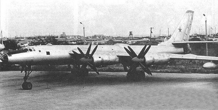 Ядерный самолёт.