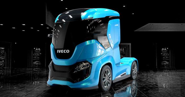 Футуристический концептуальный магистральный тягач Iveco Z Truck.