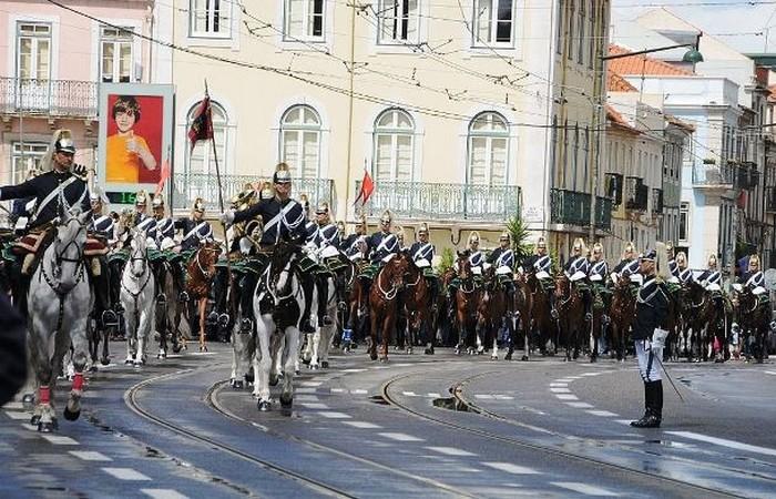 Смена караула в Лиссабоне.