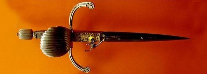 Немецкий пистолет-нож, 1600-е годы.