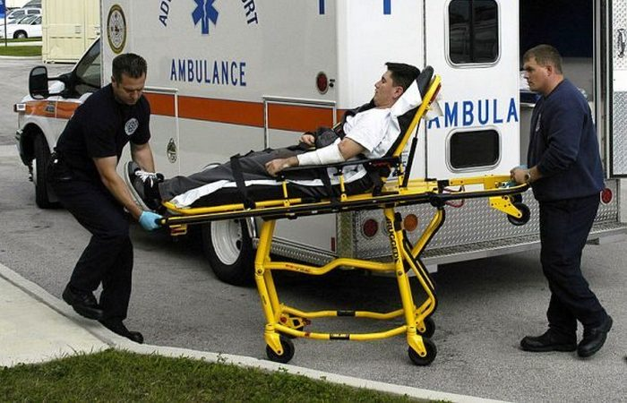 Огнестрельное ранение: скорая медицинская помощь.