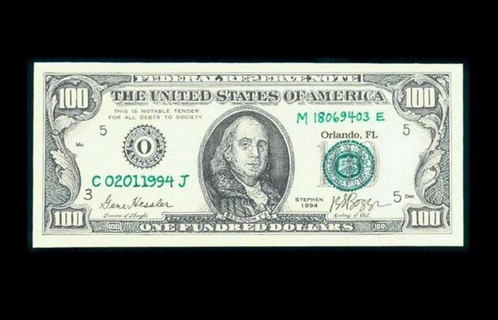 Handmade: банкнота или картина?
