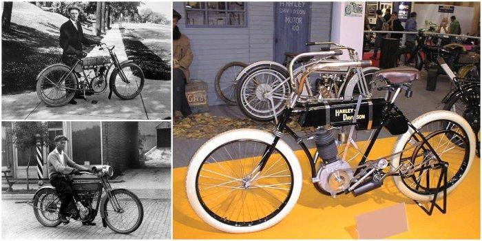 Первый «моторный велосипед», с которого начинался легендарный бренд