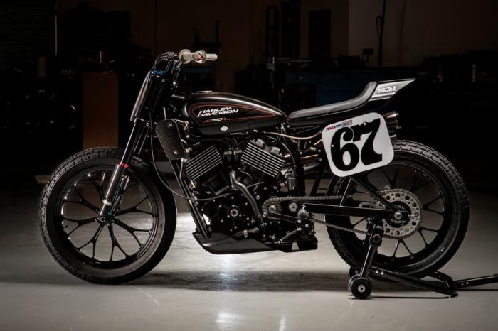 XR750 Harley-Davidson - один из самых успешных байков.