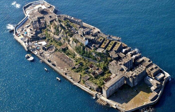 Загадочный остров Хасима.