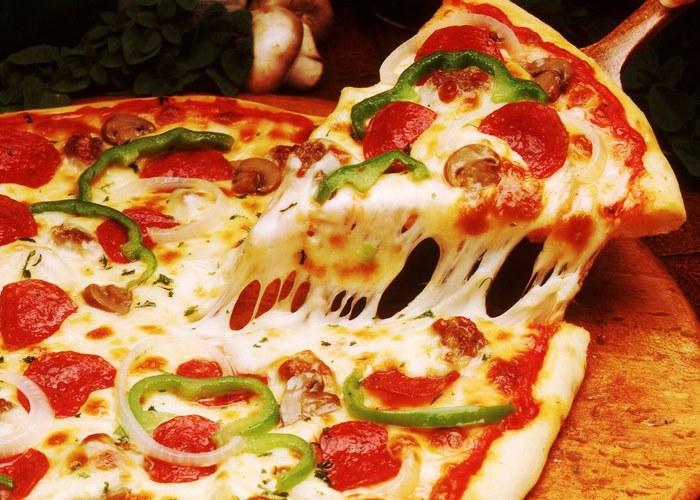 Неожиданно полезно: пицца.