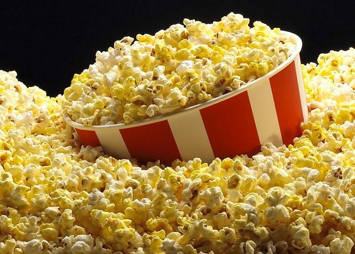 Неожиданно полезно: попкорн.