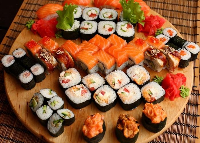 Неожиданно полезно: суши.