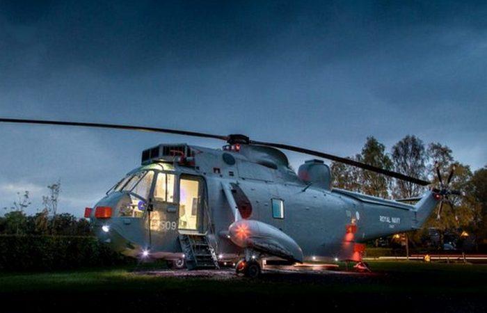 Вертолет ZA127 Sea King.