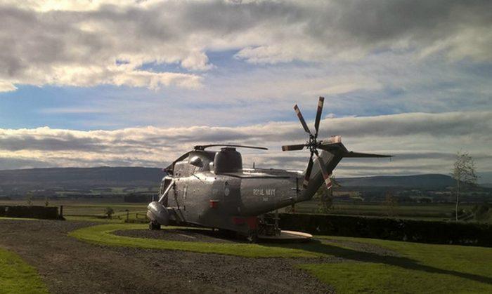 Последняя миссия «Отель», вертолета ZA127 Sea King.