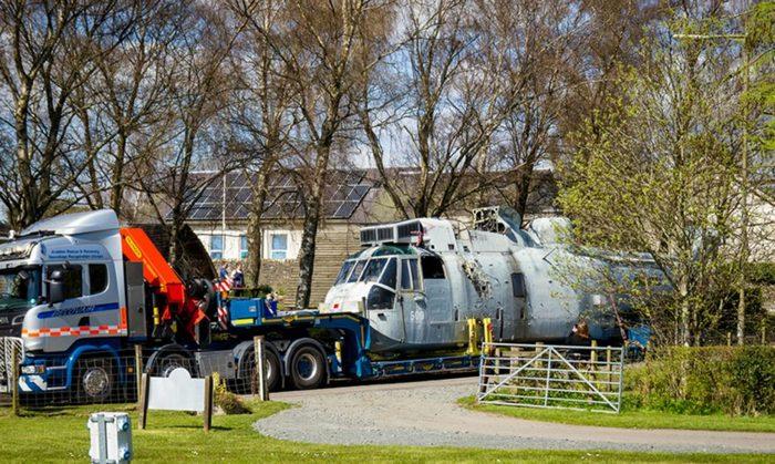 Прощай служба! Дембель вертолета ZA127 Sea King.
