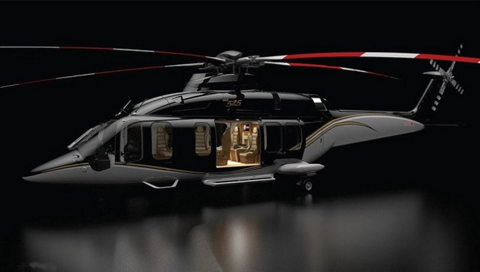 Офис-вертолёт Bell 525 Relentless.