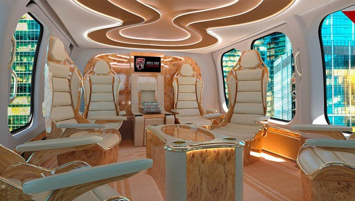 Bell 525 Relentless: бизнес под небесами.