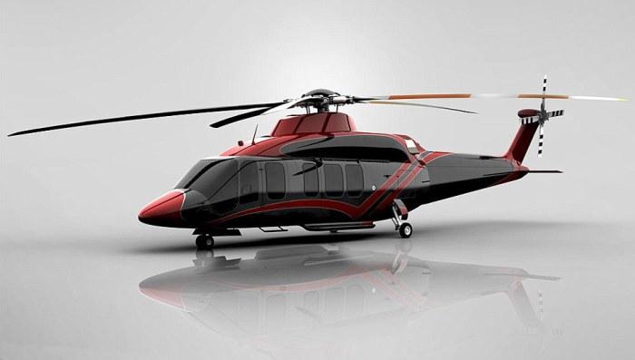 Вертолёт-офис.