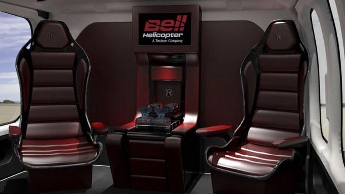 Bell 525 Relentless - идеальное решение для конфиденциальных встреч.