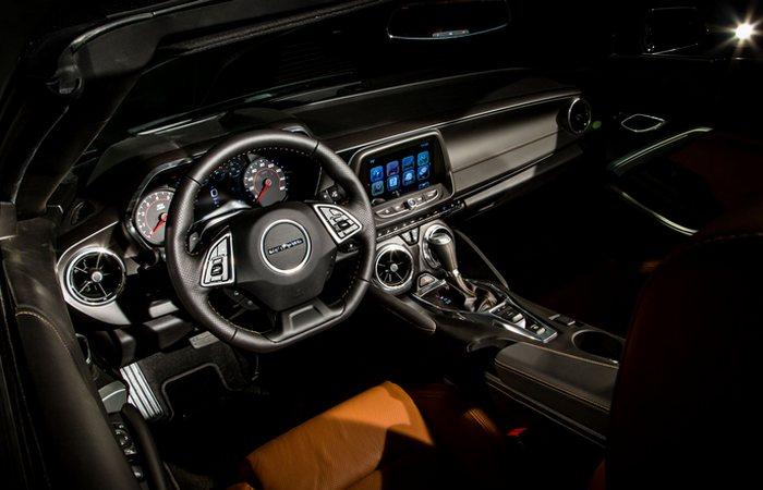 ��������� ������ Chevrolet Camaro Convertible.
