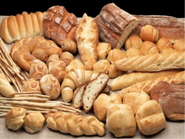 Много хлеба не берем.
