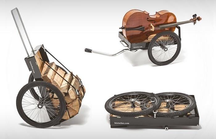 УНиверсальный велоприцеп HINTERHER.