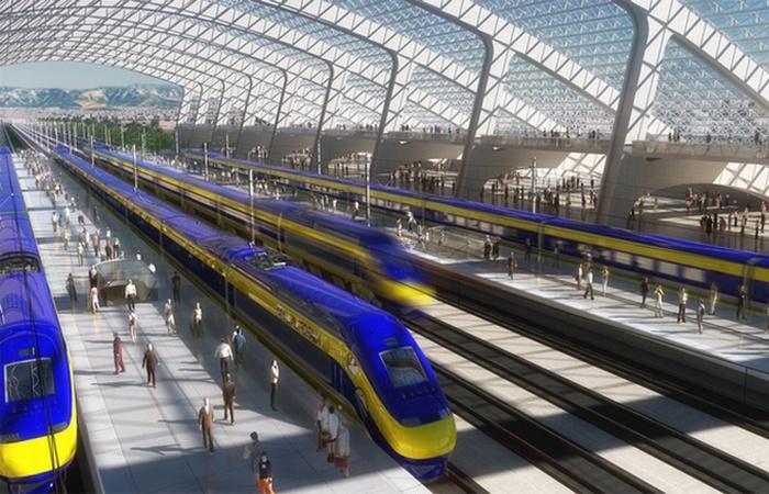 Вокзал Hyperloop.